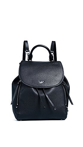 MICHAEL Michael Kors Women's Evie Medium Backpack, Black, One Size