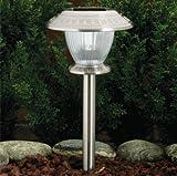 Westinghouse Set of 12 Premium LED Solar Lights w/ 3 Settings, Stainless Steel