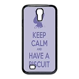 Fggcc Keep Calm And Have a Cookie Pattern Hard Back Case for SamSung Galaxy S4 I9500,Keep Calm And Have a Cookie S4 Case (pattern 14)