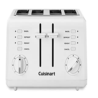 Cuisinart CPT-140 Electronic Cool Touch 4-Slice Toaster, White (B0000A1ZMX) | Amazon price tracker / tracking, Amazon price history charts, Amazon price watches, Amazon price drop alerts