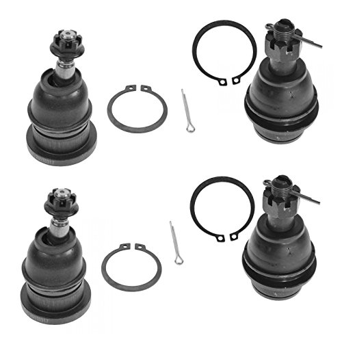 Pickup Upper Ball Joint (Front Upper & Lower Ball Joints Kit Set of 4 for Silverado Sierra Pickup Truck)