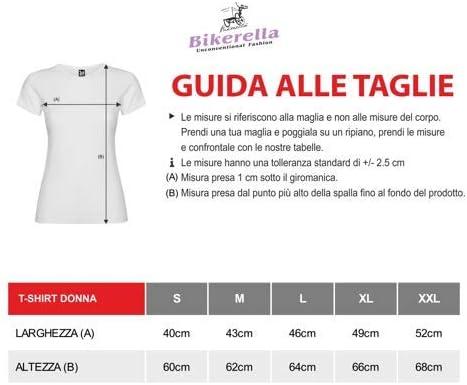 Bikerella T-Shirt Manica Corta Donna La Casa de Papel Bank by