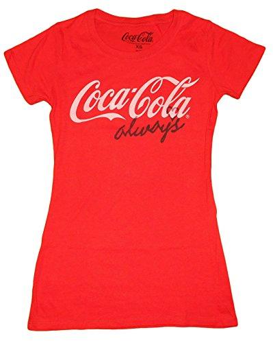 [Coca Cola Always Women's T-Shirt (Large, Red)] (Coca Cola Dress)