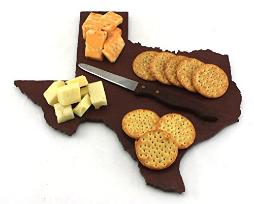 Custom Texas Slate Cutting Board, Serving Tray, or Cheese Board- Personalized with Laser Engraving