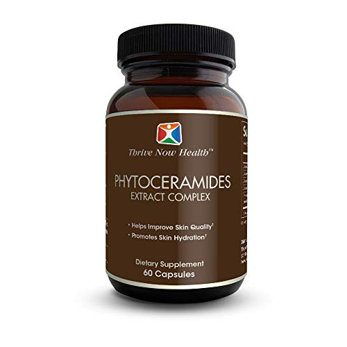 Thrive Now Health Phytoceramides Supplement (60 Capsules) Natural