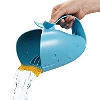 Skip Hop Moby Bath Tear-Free Waterfall Rinser, Blue