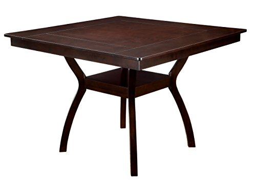 Furniture of America Dalcroze Modern Pub Dining Table