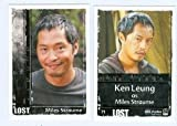 Miles Straume Lost Archives trading card 2010 Rittenhouse #71 Ken Leung