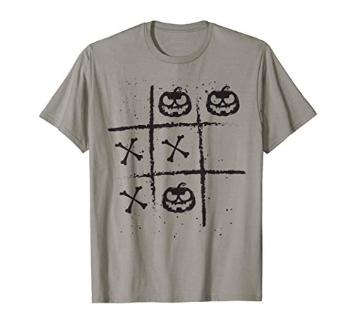 Noughts And Crosses Shirt Halloween Board Game Lazy Costume T-Shirt]()