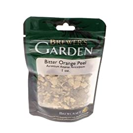 Brewer's garden-3386452 bitter orange peel, 1oz. ,silver 1 add to beer or wine for additional flavor one ounce package key ingredient in belgian style white beers
