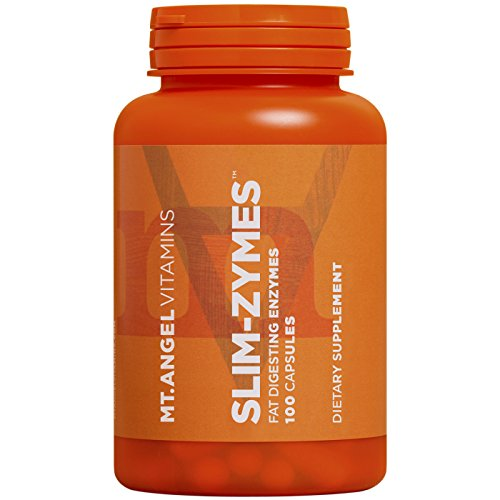 Mt. Angel Vitamins - Slim-Zymes, Fat Digesting Enzymes (100 Capsules)