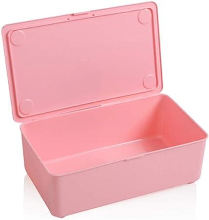 GAOLE Caja de Almacenamiento de la Ropa Interior de la Ropa Interior Calcetines Armario ropero de plástico Multi-Red de Mini-cajón organizar Caja de Almacenamiento de Almacenamiento (Color : Pink): Amazon.es: Hogar