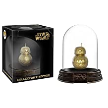 Funko Pop! Star Wars Deluxe BB-8 Gold Chrome Acrylic Dome Hot Topic Exclusive Vinyl Figure
