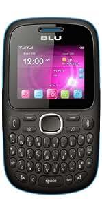 BLU Q170T Samba TV Unlocked Dual SIM Quad-Band GSM Phone (Black/Blue)