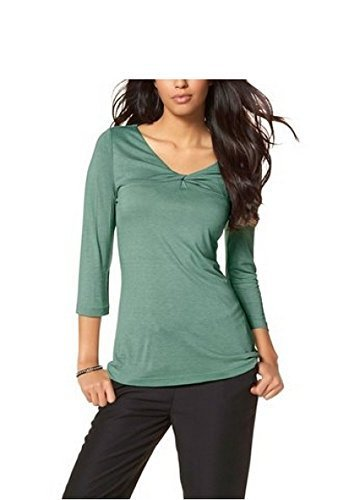 Chillytime - Camiseta de manga larga - para mujer Verde