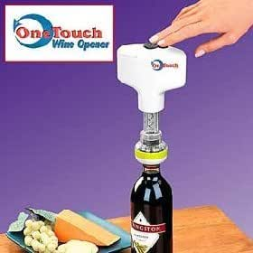 one touch wine opener open any bottle of wine in seconds wine essence kits. Black Bedroom Furniture Sets. Home Design Ideas