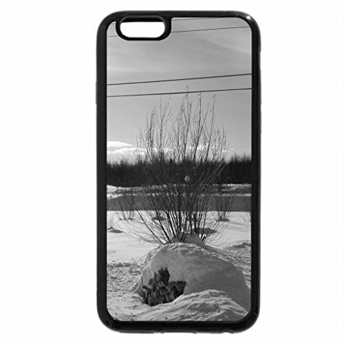 iPhone 6S Plus Case, iPhone 6 Plus Case (Black & White) -