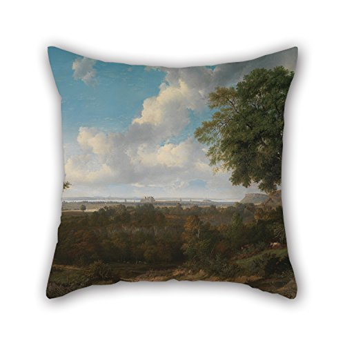 Beautifulseason The Oil Painting Patrick Nasmyth - Edinburgh From The Braids Pillow Covers Of ,16 X 16 Inches / 40 By 40 Cm Decoration,gift For Saloon,play Room,indoor,kitchen,relatives,kids (twin S - S/e Neo Vest