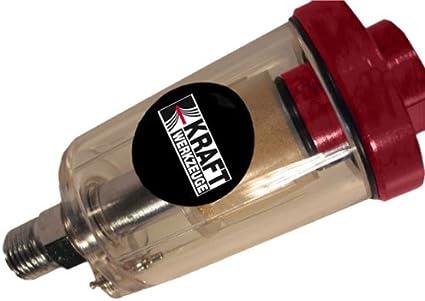 Inline 1//4 Luft Öl Wasserabscheider Filter Für Kompressor Sprühlack Werkzeug