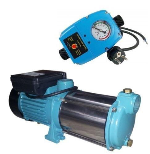 Kreiselpumpe Wasserpumpe Gartenpumpe 2200 Watt 230V INOX 10200 L/h 5,8 bar