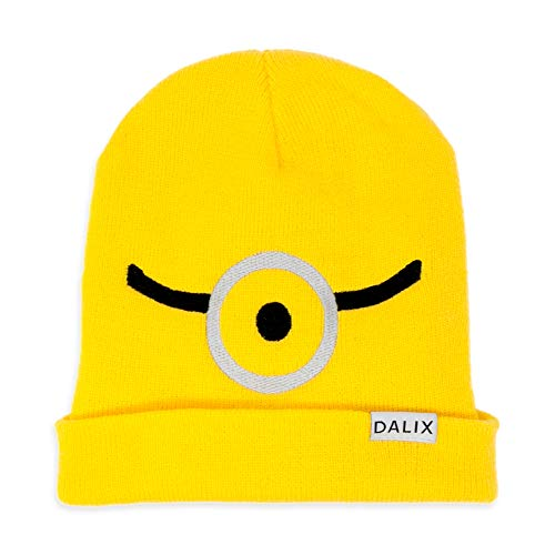 DALIX Minion Yellow Beanie Costume Hat Custom Color -