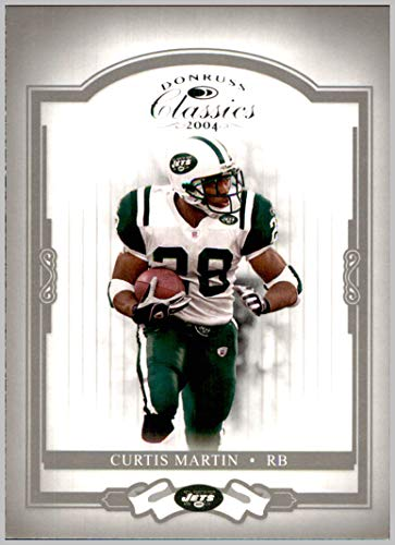 2004 Donruss Classics #67 Curtis Martin NEW YORK - York Jets Martin Curtis New