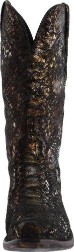 Women's Boot Python Metals N4716 Python Precious Print Classics Lucchese Metals Precious 5Bq6Ax