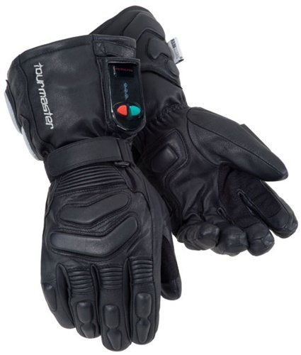 TourMaster Synergy 2.0 Electric Heated Leather Gloves (XX-Large, Black) (Leather Lexington Series)