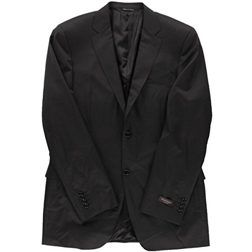 canali-mens-wool-solid-two-button-suit-jacket-black-42l