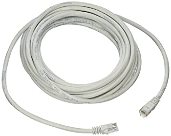 Link Depot 25-Feet Ethernet Enhanced CAT6 Networking Cable, White (C6M-25-WHB)