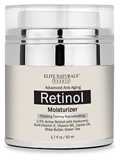 Elite Naturals Retinol Moisturizer Cream product image