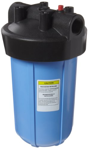 Pentek HFPP-1-PR10 Big Blue Whole House 10 inch Filter Housi