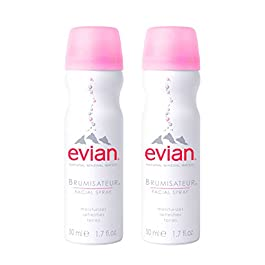 Evian Facial Spray, 1.7 oz. Travel Duo