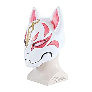 Ginkago Fortnite Plastic Fox Drift Mask Helmet Halloween, No Color, Size No Size