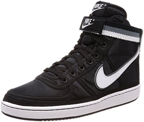 Nike Mens Vandalo Alta Supremo, Nero / Bianco-cool Grey