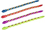 Fun Express Assorted Color Wiggle Snakes Action Figure (3 Dozen)