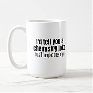 Funny Coffee Mugs For Women Office Funny Chemistry Meme For Teachers  Students Mug Gifts Classic White
