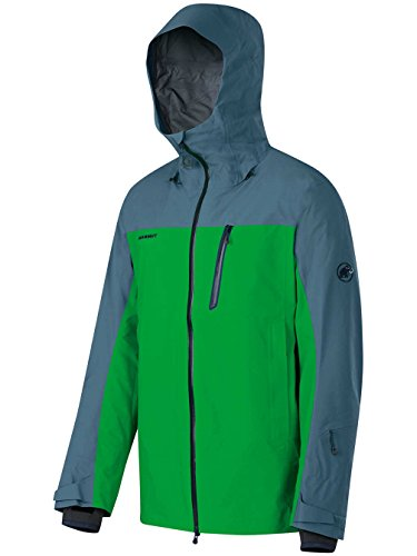 Mammut Alvier HS Hooded Jacket basil/chill L (Hs Jacket compare prices)