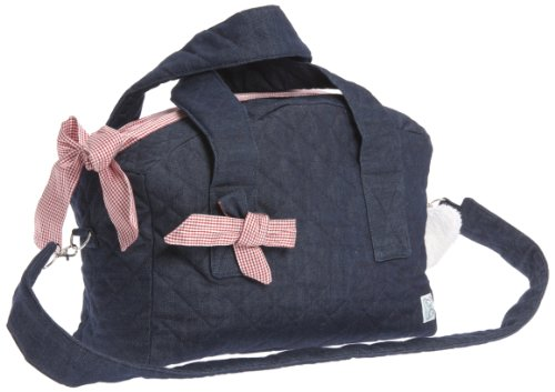 Therese Accessoires Jeans Karo - Bolso cambiador (50 x 38 cm), color rojo