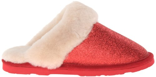 Bearpaw Women's Slipper Loki Shearling Red 2 q4B7cUqW