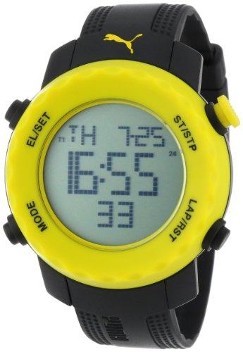 PUMA Men's PU911031002 Sharp Black and Yellow Sport Watch