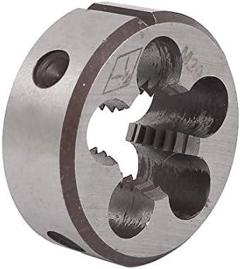 Aexit M20 x 2.5mm 45mm OD Einstellbare NPT-Rohrkegelrundgewinde mit geteiltem Gewinde (6ed83d537e1972570b25a471f0a5ca78)