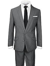 Signature Boys' Slim Fit Suit Complete Outfit