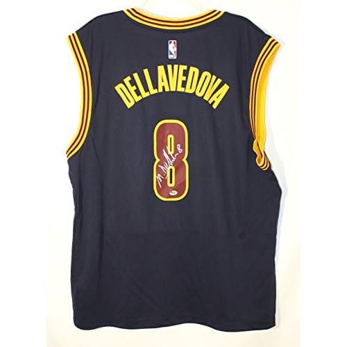 44401698830 Matthew Dellavedova Cleveland Cavaliers Signed Autographed Blue #8 Cavs  Jersey CAS COA