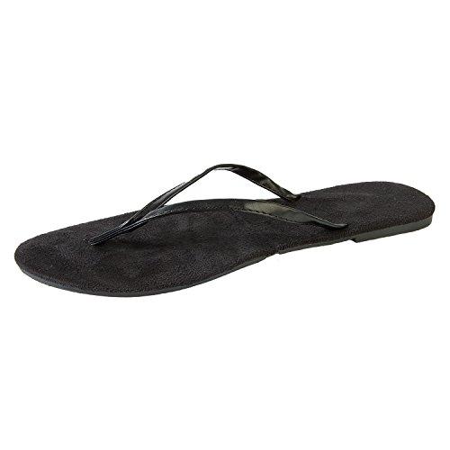 Hounds Womens Bendable Flip Flops Noir