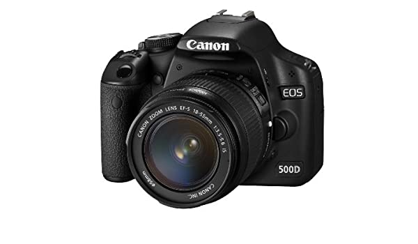 Canon EOS 500D - Cámara Réflex Digital 15.1 MP (Objetivo 18-55mm ...