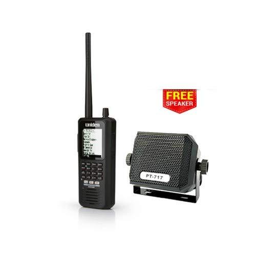 Uniden BCD436HP HomePatrol Series Digital Handheld Scanner with Universal External Speaker