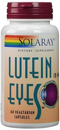 Solaray - Lutein Eyes, 18 mg, 60 capsules by Solaray