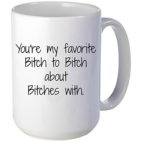 You're My Favorite Bitch Mug, Unique Gift Idea for anyone with a sense of humor (Princess Leia Quotes)