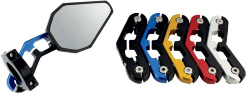 Driven Racing - Mirror D Axis Bar End Silver Dxm-Sl Pu